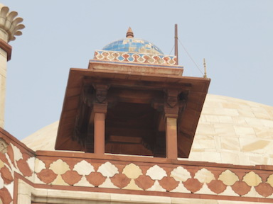 Chhatri with Blue Tiles, Humayun's Tomb