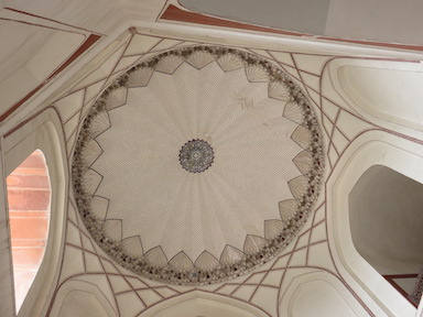 Interior of Dome, Humayun's Tomb